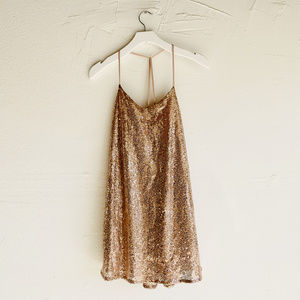 FOREIGN EXCHANGE - Sequin Mini Dress